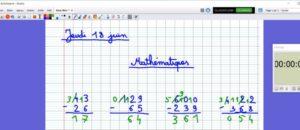 Jeudi 18 : correction maths - soustractions
